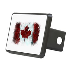 Canadian Graffiti Rectangular Hitch Cover