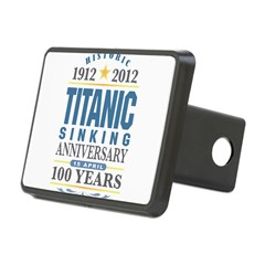 Titanic Sinking Anniversary Rectangular Hitch Cover