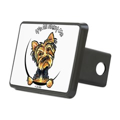 Yorkie IAAM Rectangular Hitch Cover