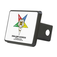CUSTOM OES EMAIL Rectangular Hitch Cover