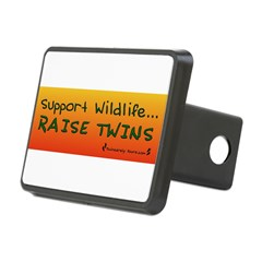 Support Wildlife - Raise Twin Rectangular Hitch Cover