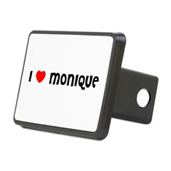 I LOVE MONIQUE Rectangular Hitch Cover