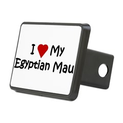 Egyptian Mau Rectangular Hitch Cover