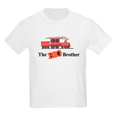 Big Brother - Trains Kids Light T-Shirt