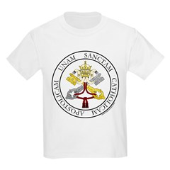4 Marks of the Church - Latin Infant Creeper Kids Light T-Shirt