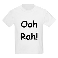 Ooh Rah Black Kids Light T-Shirt