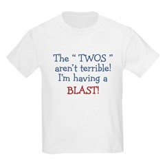 3-Terrible Twos.PNG Kids Light T-Shirt