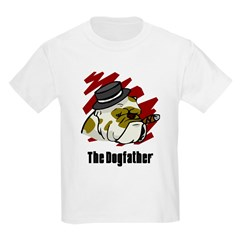 The Dogfather Kids Light T-Shirt