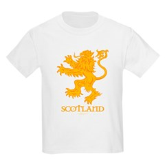 Scottish Lion by Russ Fagle Kids Light T-Shirt