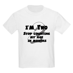 I'm Two Kids Light T-Shirt