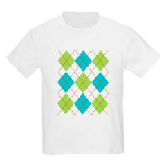 Argyle T-shirt Kids Light T-Shirt
