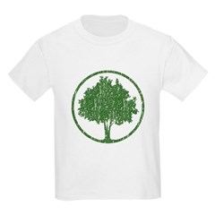 Vintage Tree Kids Light T-Shirt