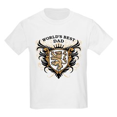 World's Best Dad Kids Light T-Shirt