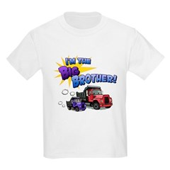 I'm the Big Brother! Kids Light T-Shirt