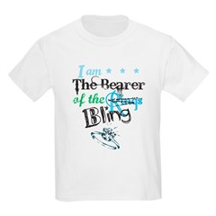 I am . . . The Bearer of The Bling Kids Light T-Shirt