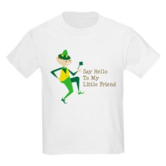 Say Hello To My Little Friend Kids Light T-Shirt