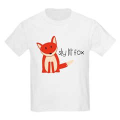 Sly Lil' Fox Kids Light T-Shirt