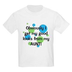 Good Looks from Aunt Kids Light T-Shirt
