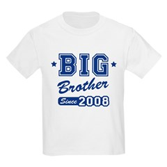 Big Brother Since 2008 Kids Light T-Shirt