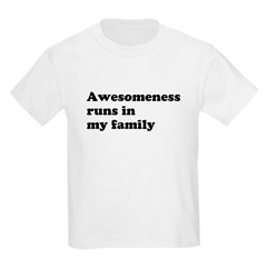 Awesomeness Kids Light T-Shirt