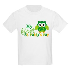 My 1st St. Patrick's Day Ow Kids Light T-Shirt