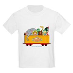 Freight Car Kids Light T-Shirt