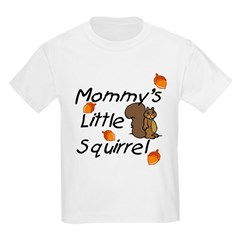 Mommy's Little Squirrel Infant Creeper Kids Light T-Shirt