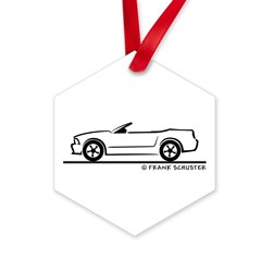 2007 Ford Mustang Convertible Hexagon Ornament