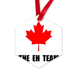 Canada The Eh Team Hexagon Ornament