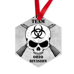 Zombie Response Team: Ohio Division Hexagon Ornament