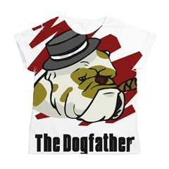 The Dogfather Women's All Over Print T-Shirt