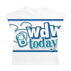 WDW Today Women's All Over Print T-Shirt