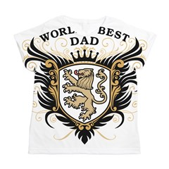 World's Best Dad Women's All Over Print T-Shirt