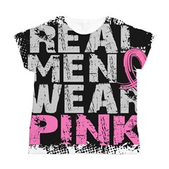Real Men Wear Pink 1 Women's All Over Print T-Shirt