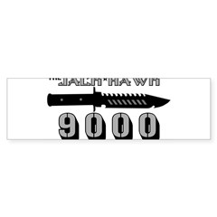 Jack Hawk Rectangle Sticker (Bumper)