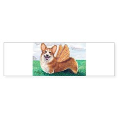 Corgi Rectangle Sticker (Bumper)