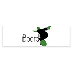 iBoard Rectangle Sticker (Bumper)