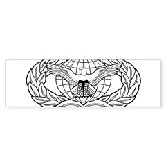 Force Protection Badge Rectangle Sticker (Bumper)