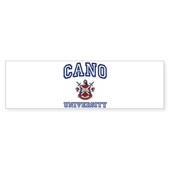 CANO University Rectangle Sticker (Bumper)