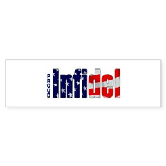 Proud Infidel Rectangle Sticker (Bumper)
