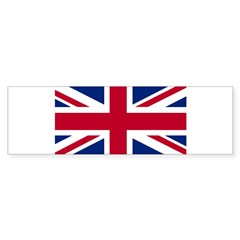 Union Jack Rectangle Sticker (Bumper)
