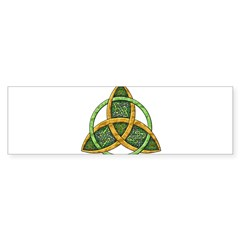 Celtic Trinity Knot Rectangle Sticker (Bumper)