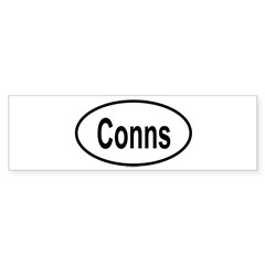 CONNS Oval Sticker (Bumper)