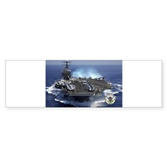 USS Carl Vinson CVN-70 Rectangle Sticker (Bumper)