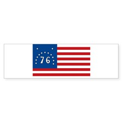 Bennington Battle Flag Rectangle Sticker (Bumper)