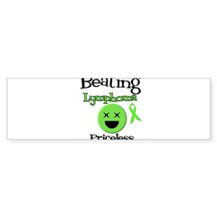 Beating Lymphoma Oval Sticker (10 pk) Sticker (Bumper)