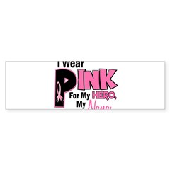 I Wear Pink For My Nana 19 Rectangle Sticker (Bumper)