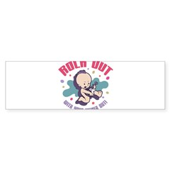 Rock Out Rectangle Sticker (Bumper)