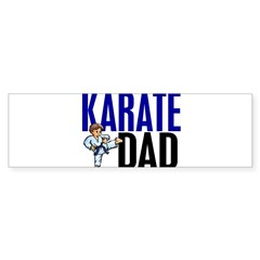 Karate Dad (OF BOY) 3 Rectangle Sticker (Bumper)
