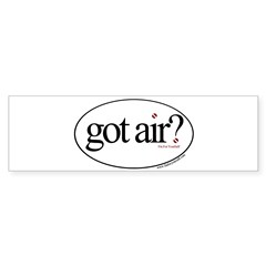 Got Air? Oval Sticker (Bumper)